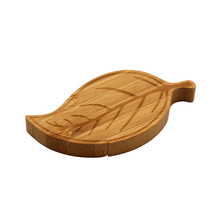 Leaf shape wooden flash drive usb memory flash