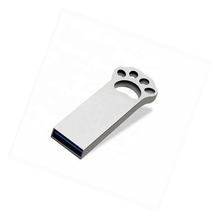 New Cartoon Cat paw shape usb flash drive 4gb 8gb 16gb 32gb