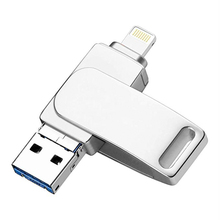 3 in 1 OTG USB flash drive for iPhone