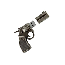 Revolver Gun Shape Flash Drive