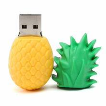 Pinapple shape soft PVC USB flash drive