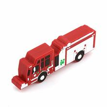 Fire fighting truck shape USB flash drive