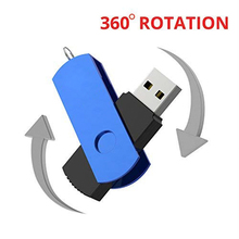 Most popular mini metal and plastic swivel usb flash drive