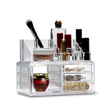 acrylic makeup storage CB-06 big makeup box