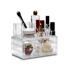 cosmetic storage box CB-07 plastic makeup containers