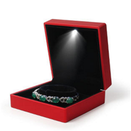 jewelry box for necklaces  JB-02 lightbox jewelry