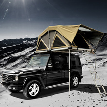 Land Cruiser tent Outdoor Canvas Suv Hard Shell Roof Top Tent