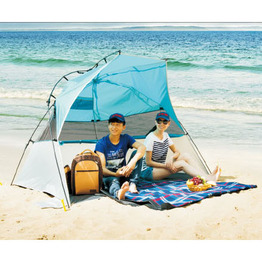 Deep Shade Zelt Face Sun Beach Tent Small Beach Shelter