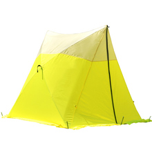 Pop up hub mechanism triangle work tent for sale
