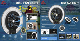 Led fan lamp improvement