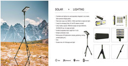 Huge Lumen solar Garden outdoor lights Working lamp