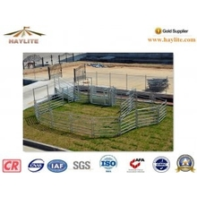 Australia Style 1.8X2.1m 6 Rails Galvanized Portable Cattle Yard Panel (Direct Factory)