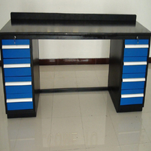 multifunction metal dental laboratory workbench with lock