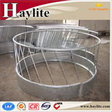 Galvanised round bale feeder