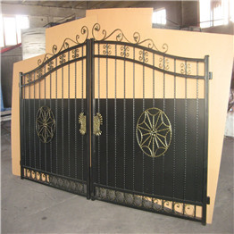Galvanized Iron Gate