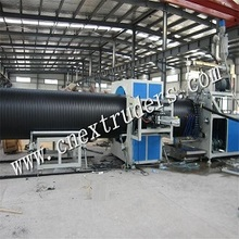 Hdpe Large Diameter Wall Winding Pipe Production Line Plastic Pipe Machine