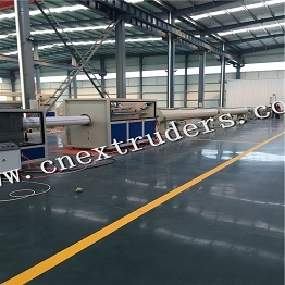 PE PP Single Layer Multi Layer Pipe Co Extrusion Production Line