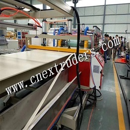 PVC and WPC Crust Foamed Board Production Line