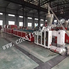 WPC Foamed Door and Wide Board Production Line
