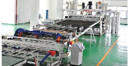 E-commerce road for PE plastic sheet production line