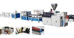 Maintenance method for important parts of plastic board production line