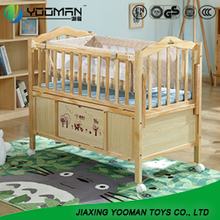 YAU9074 crib that turns into toddler bed