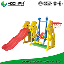 YAW2203 childrens slide swing and slide set