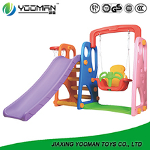 YAW2594 childrens slide swing and slide set