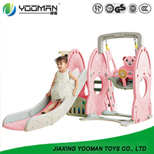 YBI3528 childrens slide swing and slide set