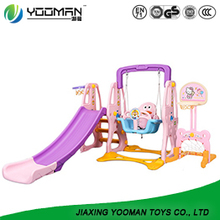 YBI3799 childrens slide swing and slide set