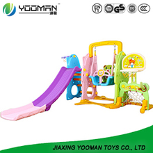 YBI6725 childrens slide swing and slide set
