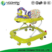 Moon Wooden Baby Walker Pram As Kids Stroller Toy Dolls