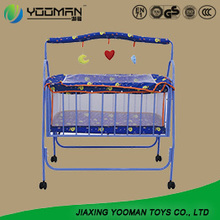 Hot Sale Acrylic Cot Bed Baby Crib