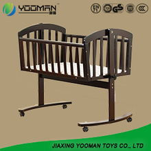 3 In1 Wooden Sleigh Baby Cot