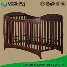 Bamboo Wooden Toddler Bed Baby Cribs