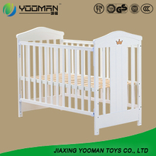 Wooden Adult Attachable  Baby Crib With Drawers