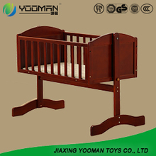 Chinese Baby Bed Solid Wooden Babies Crib