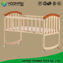 New Design Wooden Bed Adult Baby Crib Baby Cot