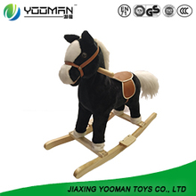 Creative Wood Horse Rocking Chair For Kids
