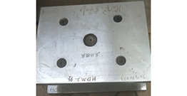 Customer customized molds are completed