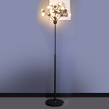 Metal iron adjustable special office floor lighting reading lamp