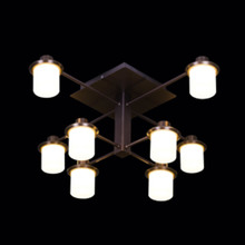 Wholesale best modern fancy luxury iron hanging led ceiling light