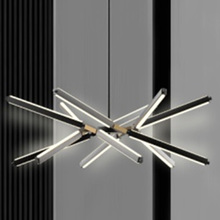 High quality lighting fixtures modern black metal indoor pendant lamp chandeliers