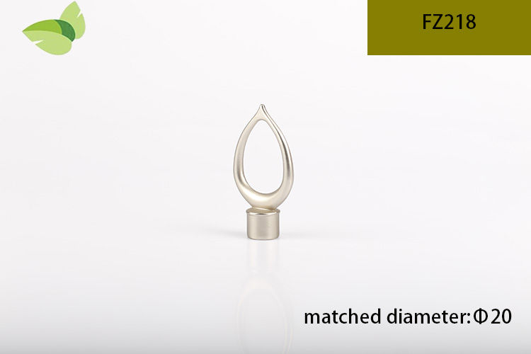 FZ218,zinc alloy finials iron finials Cylindrical finials