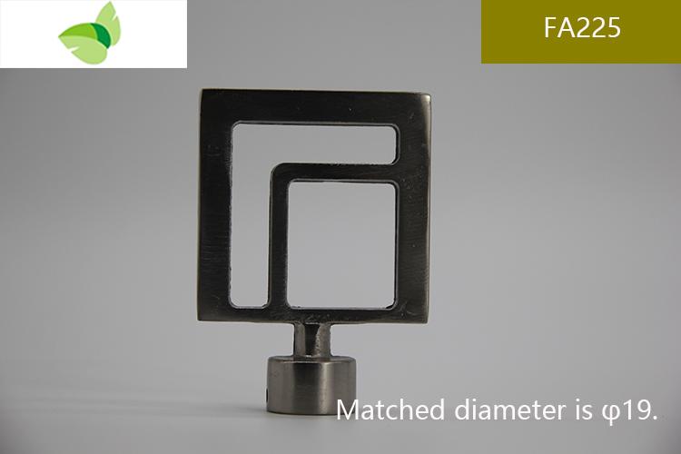 FA225,aluminium alloy finials