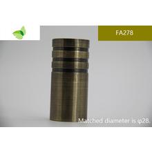 FA278,aluminium alloy finials wooden curtain pole finials white finials