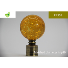 FR358,crystal finials