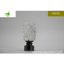 FR376,crystal finials
