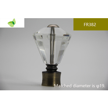 FR382,crystal finials