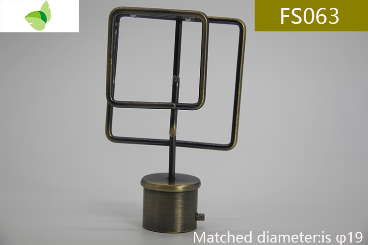 FS063,iron finials
